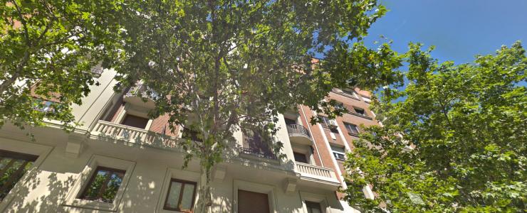 C/ Serrano lote de 4 viviendas + oficina, 925 m²