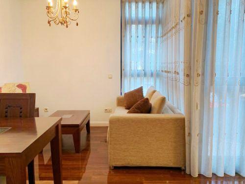 Apto. en Bº Costillares-Ciudad Lineal (Arturo Soria) con piscina y jardín – 260.000 €