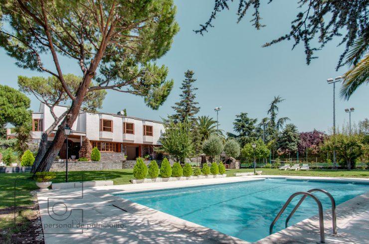 Boadilla del Monte – Urb. Las Lomas, pla. 2.530 m², chalet de 716 m²